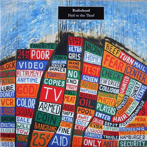RADIOHEAD - HAIL TO THE THIEF DUPLO LP