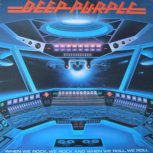 DEEP PURPLE - WHEN WE ROCK, WE ROCK AND ROLL CD
