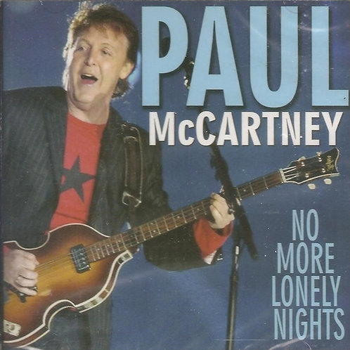 PAUL MCCARTNEY - NO MORE LONELY NIGHTS CD