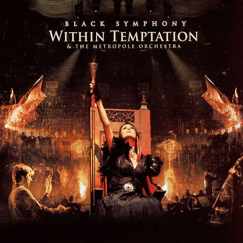 WITHIN TEMPTATION - BLACK SYMPHONY CD