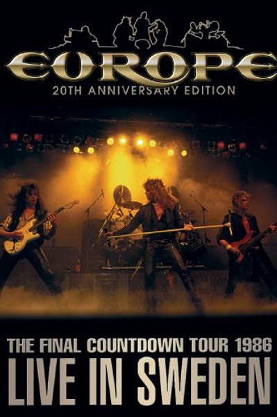 EUROPE - THE FINAL COUNTDOWN TOUR 1986 LIVE IN SWEDEN DVD