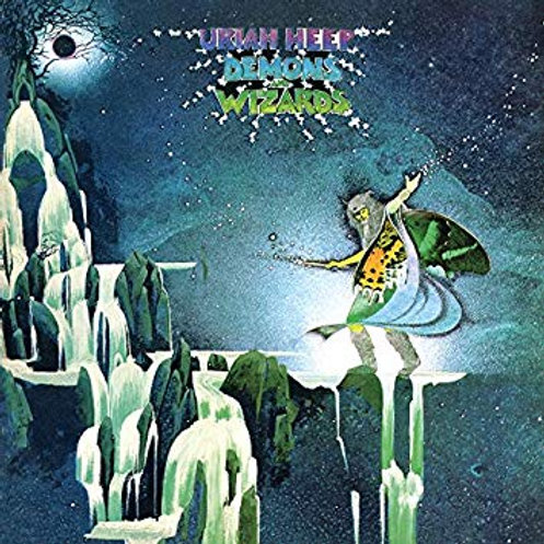 URIAH HEEP - DEMONS AND WIZARDS LP