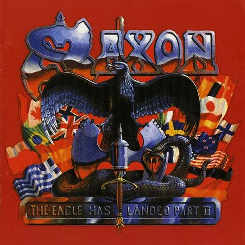 SAXON - THE EAGLE HAS LANDED PART II DUPLO CD
