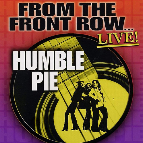 HUMBLE PIE - FROM THE FRONT ROW LIVE DVD AUDIO