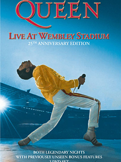 QUEEN - THE DVD COLLECTION LIVE AT WEMBLEY DVD
