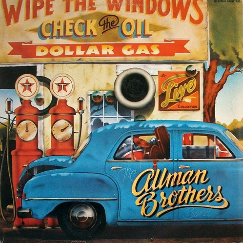 THE ALLMAN BROTHERS - WIPE THE WINDOWS CD