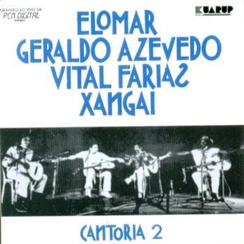 CANTORIA VOLUME 2 - ELOMAR GERALDO AZEVEDO CD