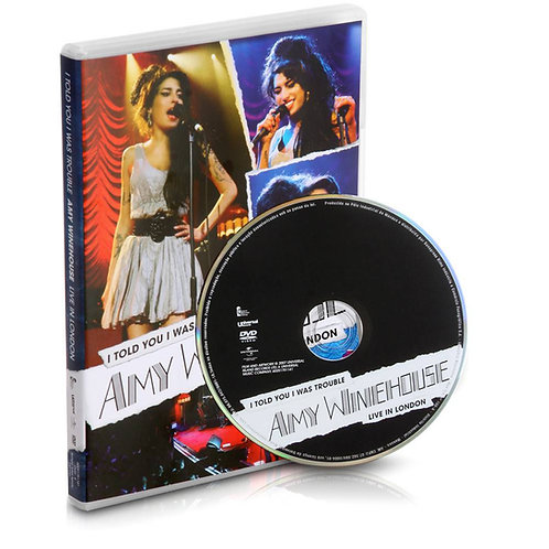 AMY WINEHOUSE - I TOLD YOU I WAS TROUBLE DVD