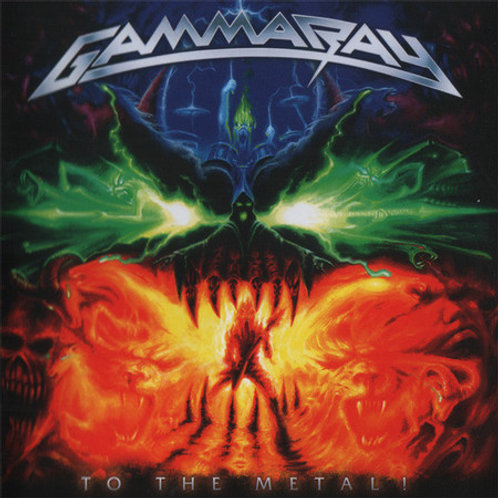 GAMMA RAY - TO THE METAL! CD