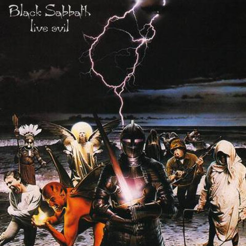 BLACK SABBATH - LIVE EVIL DUPLO LP