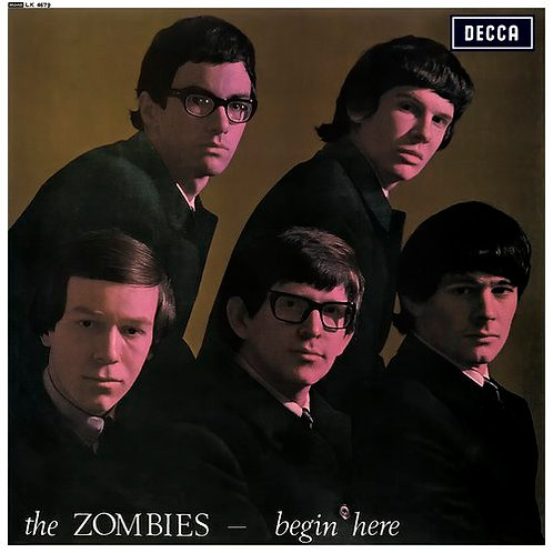 THE ZOMBIES - BEGIN HERE LP
