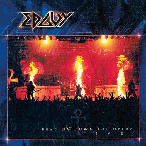 EDGUY - BURNING DOWN THE OPERA CD