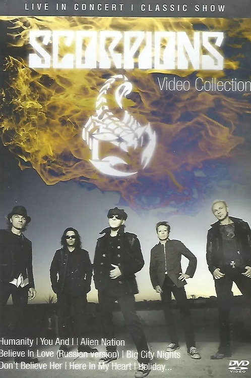 SCORPIONS -VIDEO COLLECTION LIVE IN CONCERT SHOW DVD