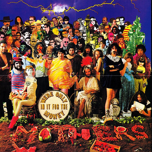 ZAPPA - WE´RE ONLY IN IT FOR THE MONEY CD