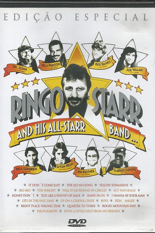 RINGO STARR - AND HIS ALL-STARR BAND EDIÇÃO ESPECIAL DVD