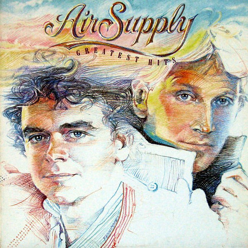 AIR SUPPLY - GREATEST HITS LP