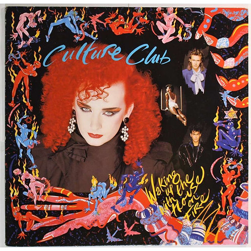 CULTURE CLUB - WAKING UP WITH HOUSE ON FIRE LP