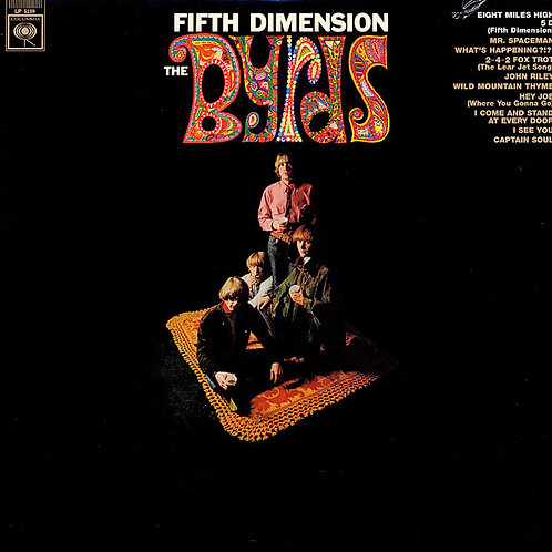 THE BYRDS - FIFTH DIMENSION LP