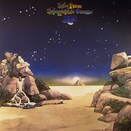YES - TALES FROM TOPOGRAPHIC OCEANS DUPLO LP
