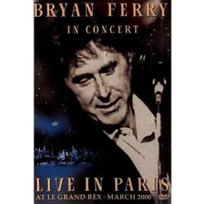 BRYAN FERRY - LIVE IN PARIS DVD