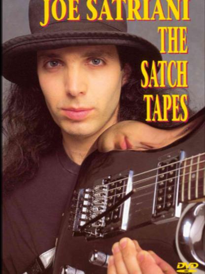 JOE SATRIANI - THE SATCH TAPES DVD