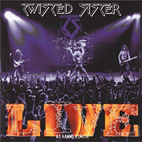 TWISTED SISTER - LIVE AT HAMMERSMITH CD