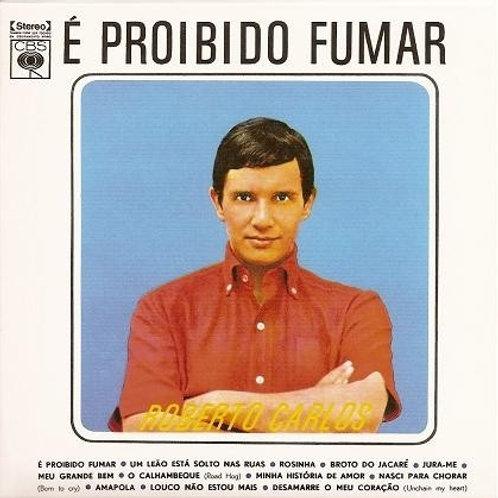 ROBERTO CARLOS - É PROIBIDO FUMAR 1961 LP