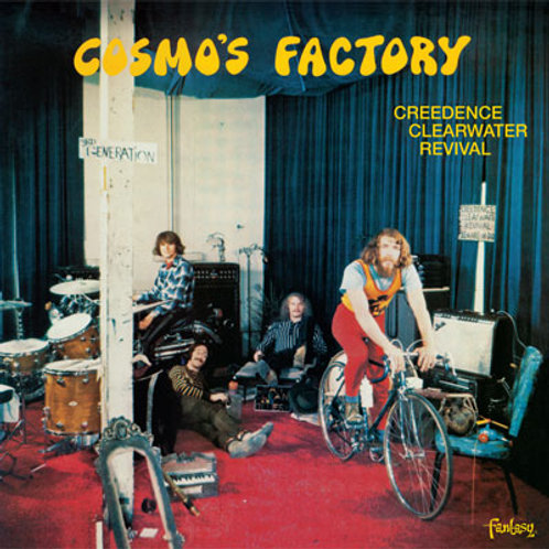 CREDENCE CLEARWATER REVIVAL - COSMO´S FACTORY CD