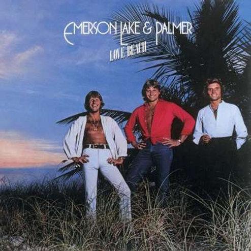 EMERSON LAKE E PALMER - LOVE BEACH CD