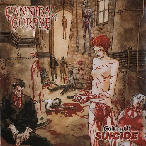 CANNIBAL CORPSE - GALLERY OF SUICIDE CD