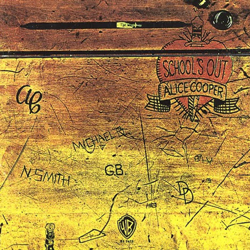 ALICE COOPER - SCHOOL'S OUT CD