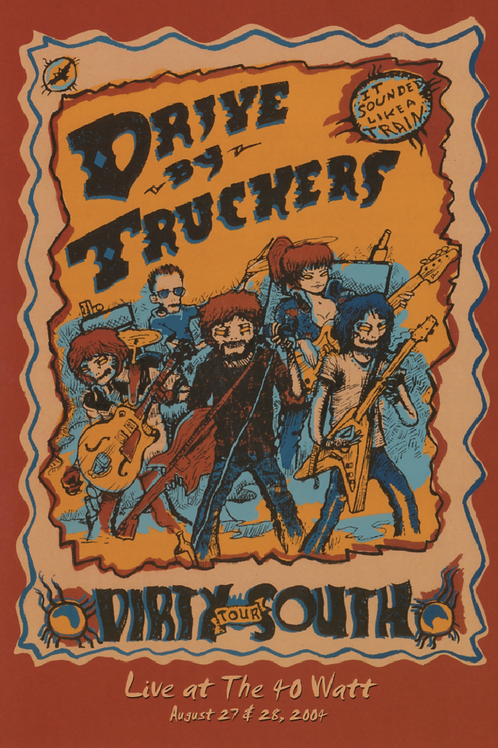 DRIVE BY TRUCKERS - DIRTY SOUTH DVD