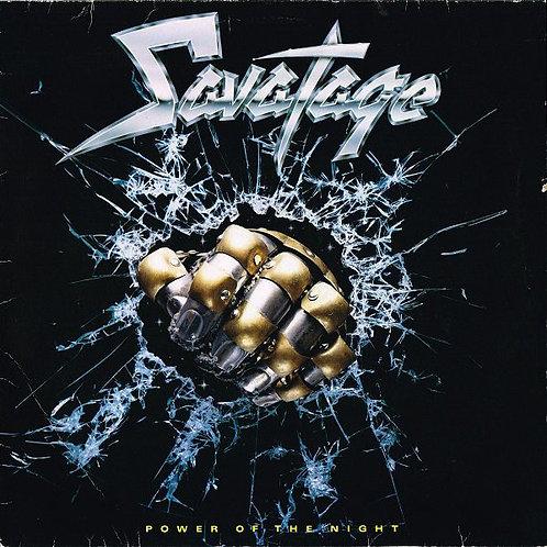 SAVATAGE - POWER OF THE NIGHT LP