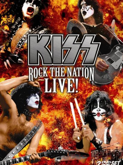 KISS - ROCK THE NATION LIVE! DUPLO DVD