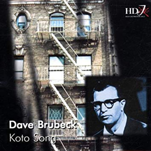 DAVE BRUBECK - KOTO SONG CD