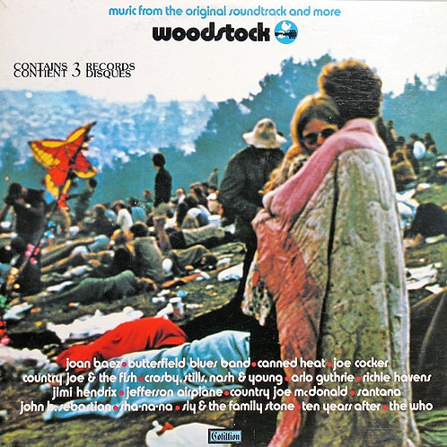 WOODSTOCK - LP