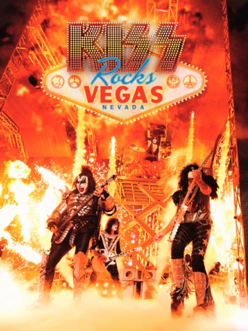 KISS - ROCKS VEGAS NEVADA DVD