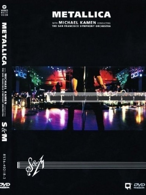 METALLICA - S&M SYMPHONY ORCHESTRA DVD BOX SET