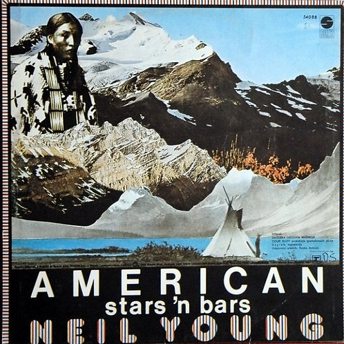 NEIL YOUNG - AMERICAN STARS N´ BARS LP