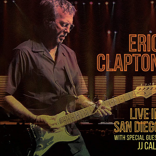 ERIC CLAPTON - LIVE IN SAN DIEGO CD DIGIPACK