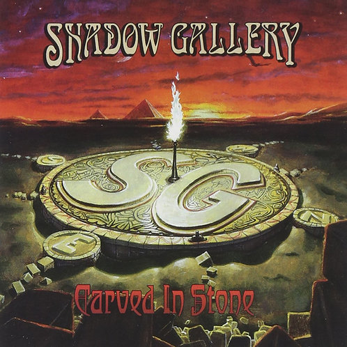 SHADOW GALLERY - CARVED IN STONE CD