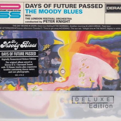 THE MOODY BLUES - DAYS OF FUTURE PASSED DUPLO SACD