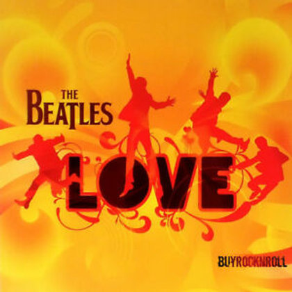THE BEATLES - LOVE CD