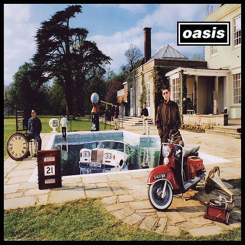 OASIS - BE HERE NOW TRIPLO CD DIGIPACK