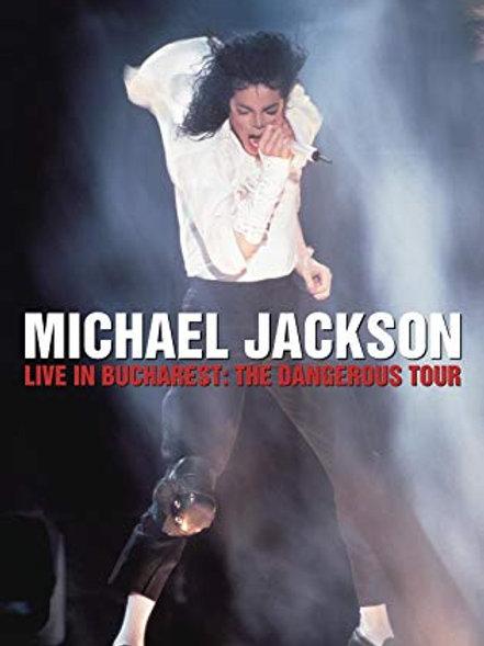 MICHEAL JACKSON - LIVE IN BUCHAREST: THE DANGEROUS TOUR DVD
