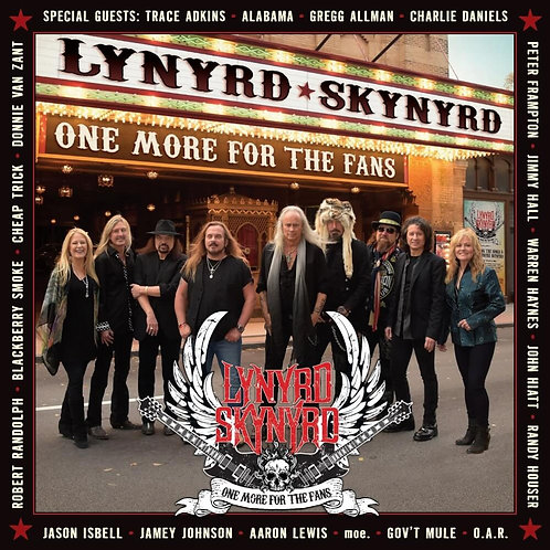 LYNYRD SKYNYRD - ONE MORE FOR THE FANS DUPLO CD