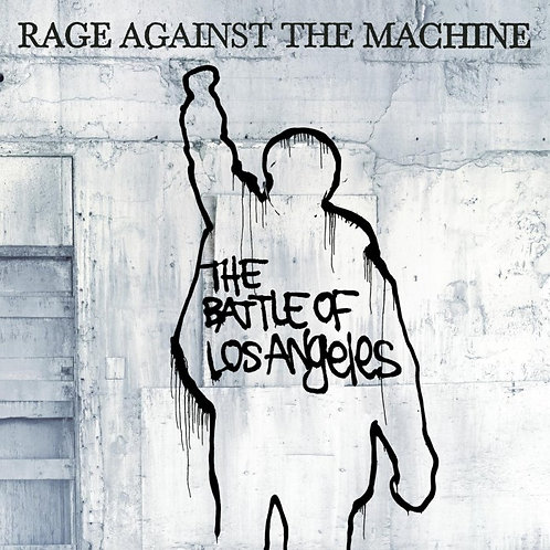 RAGE AGAINS THE MACHINE - THE BATTLE OF LOS ANGELES CD