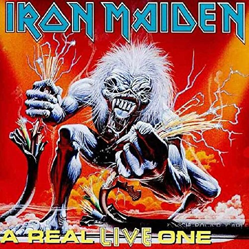 IRON MAIDEN - A REAL LIVE ONE CD