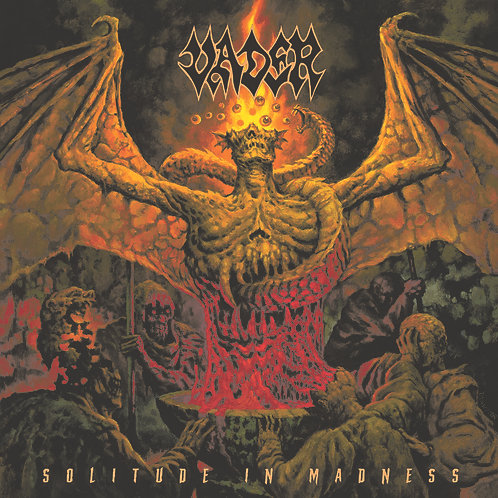 VADER - SOLITUDE IN MADNESS CD