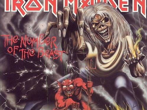 IRON MAIDEN - THE NUMBER OF THE BEAST REMASTERED CD